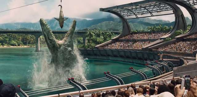 Jatka, oklepane motywy i wypasione dinozaury - Jurrasic World w kinach - full image
