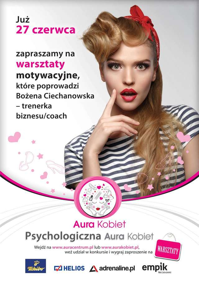 Psychologiczna Aura Kobiet. Zapraszamy do udziału w warsztatach - full image