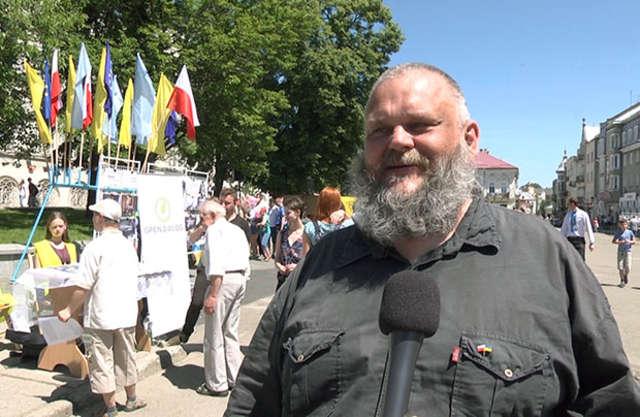 W Drohobyczu Ukraińcy i Polacy żyją w zgodzie - full image