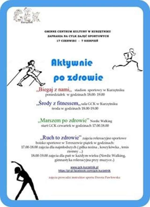 Plakat informujący o rajdzie