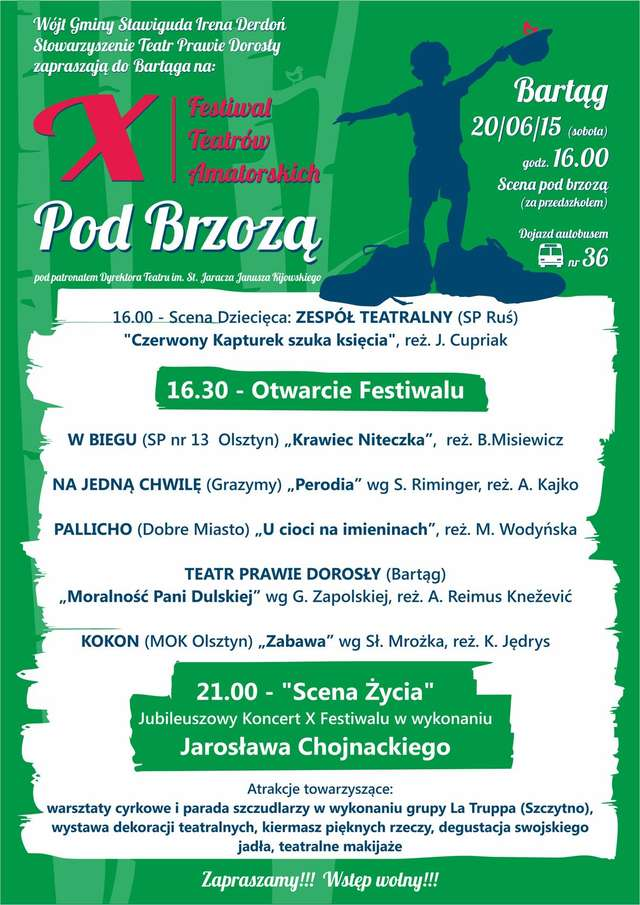 "Festiwal Teatrów Amatorskich ""Pod Brzozą"" - full image"