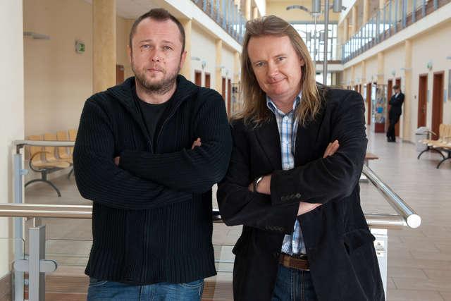 Dr Piotr Wasyluk i dr hab. Andrzej Kucner - full image