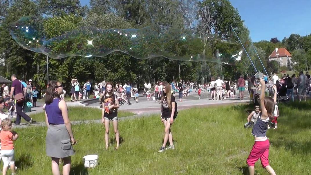 II edycja olsztyńskiego Festiwalu Baniek Mydlanych