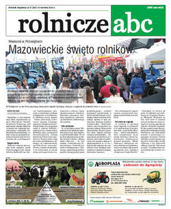 Rolnicze ABC - czerwiec 2015