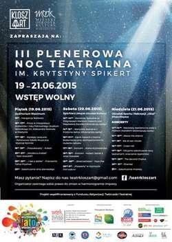 Plenerowa Noc Teatralna im. Krystyny Spikert