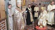 Święcenia kapłańskie w górowskiej cerkwi Podwyższenia Krzyża Świętego