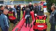 Strażacy z niemieckiego Hilter z wizytą w Lubawie