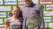 Sukces tenisistki z Ostródy w turnieju skrzatów w Kołobrzegu