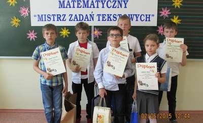 Mistrzowie zadań tekstowych spotkali się w Wieliczkach