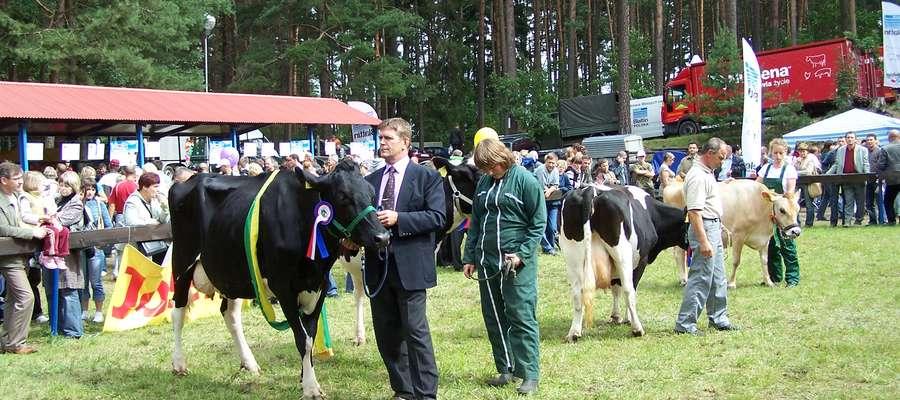 Wojciech Jończyk w 2007 podczas wystawy zwierząt hodowlanych w Olsztynie
