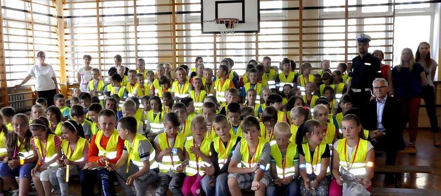 Uczniowie Szkoły Podstawowej nr 2 będą bezpieczniejsi klasy 1-3