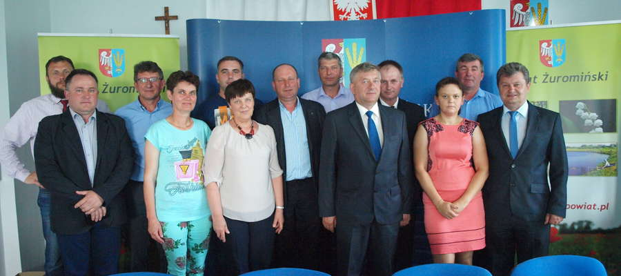 Pierwsze spotkanie Rady Powiatowej Mazowieckiej Izby Rolniczej Powiatu Żuromińskiego w nowej kadencji