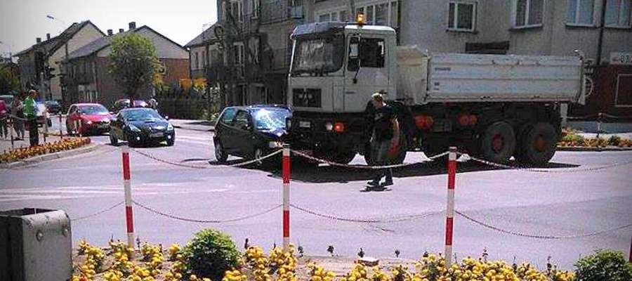 Na skrzyżowaniu Lidzbarska – Wyzwolenia doszło do stłuczki
