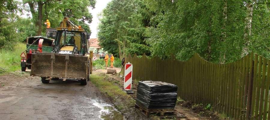 Przebudowa drogi Kalskie Nowiny — Stręgiel