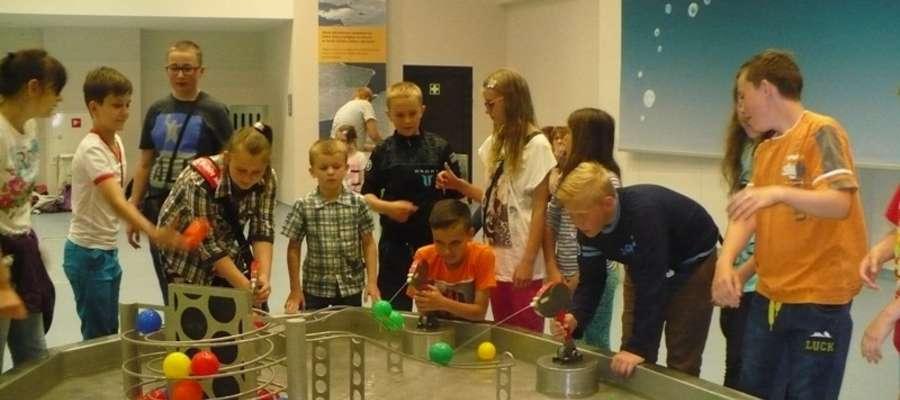 Dzieci w Centrum Nowoczesności Młyn Wiedzy