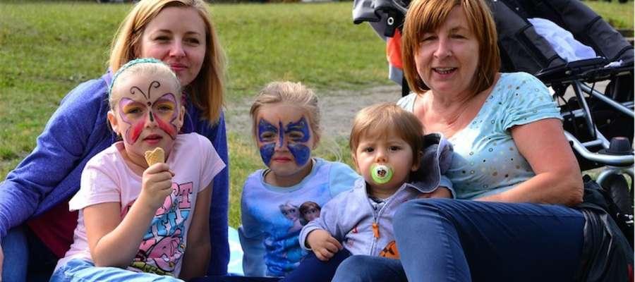 Rodzinnie na festynie w Boleszynie