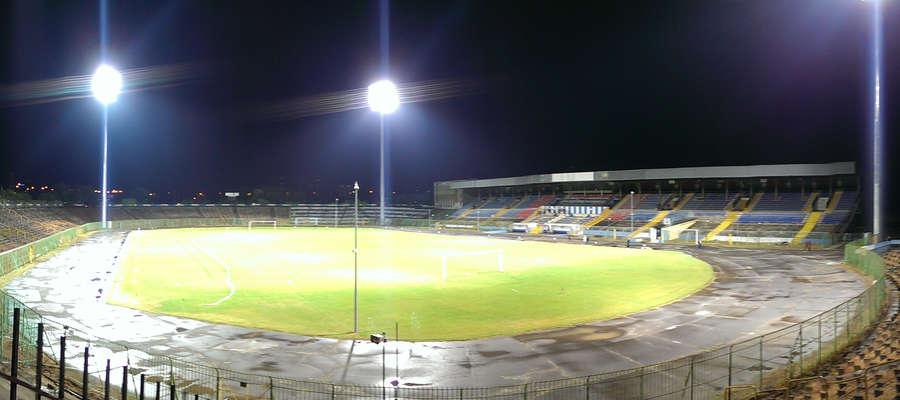 Test Nowego Oświetlenia Stadionu Stomilu Olsztyn Olsztyn
