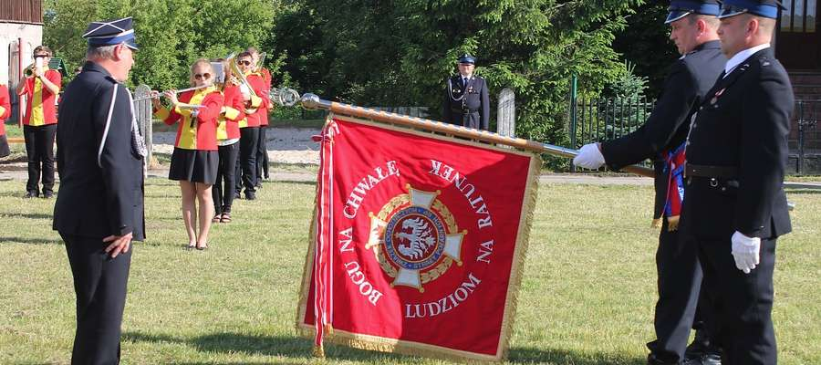 Ochotnicza Straż Pożarna z Targowiska świętowała 100. urodziny