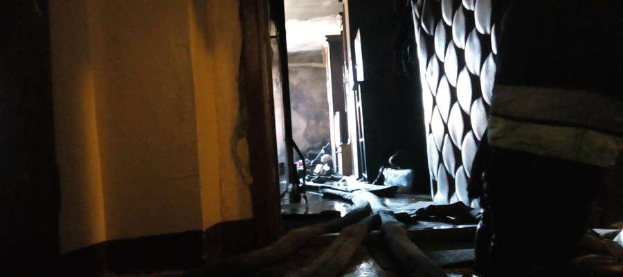 W pożarze na szczęście nikt nie ucierpiał.
