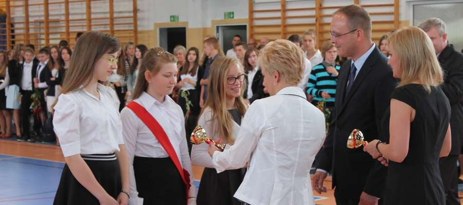 Zakończenie roku szkolnego 2014/2015 w Rynie