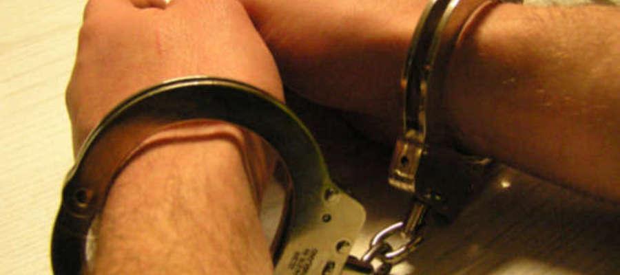 Włamywacz został zatrzymany. Grozi mu 10 lat więzienia