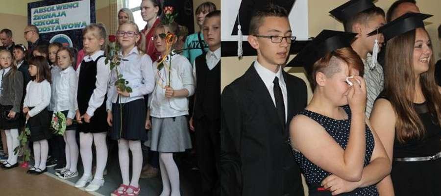 Apele kończące rok szkolny 2014/2015 odbyły się w szkole podstawowej i gimnazjum w Bisztynku.