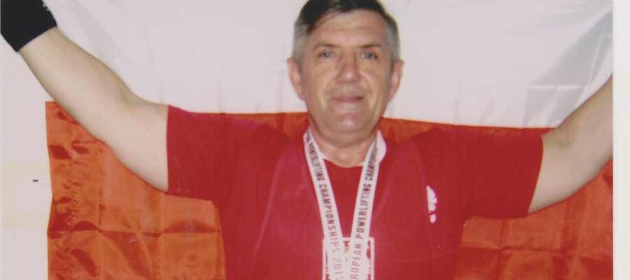 Stanisław Kozeko, Mistrz Europy 2015 w wyciskaniu sztangi leżąc