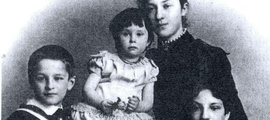 Dzieci Carla Horna. Druga od prawej, to Margarethe Horn-Wernick autorka wspomnień