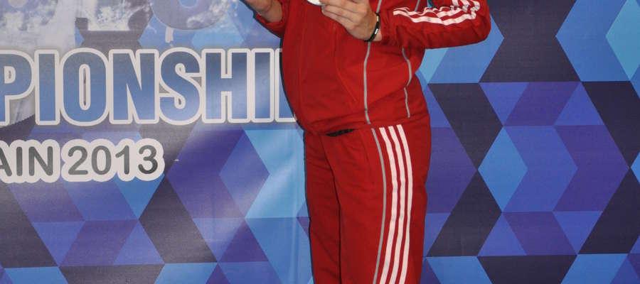 Anna Dąbrowska jest zawodniczką Startu Olsztyn.