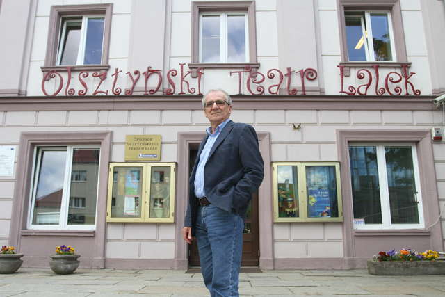 Lem na plakacie - konkurs Teatru Lalek w Olsztynie - full image