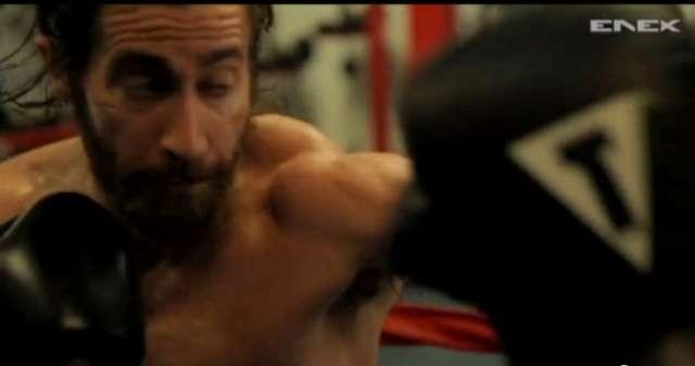 Jake Gyllenhaal i 50 Cent ostro trenują do filmu Do utraty sił - full image