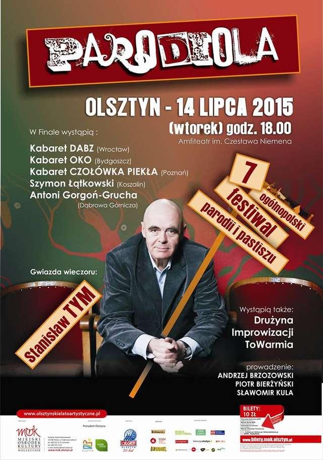Stanisław Tym gwiazdą festiwalu Parodiola - ZŁAP BILET - full image