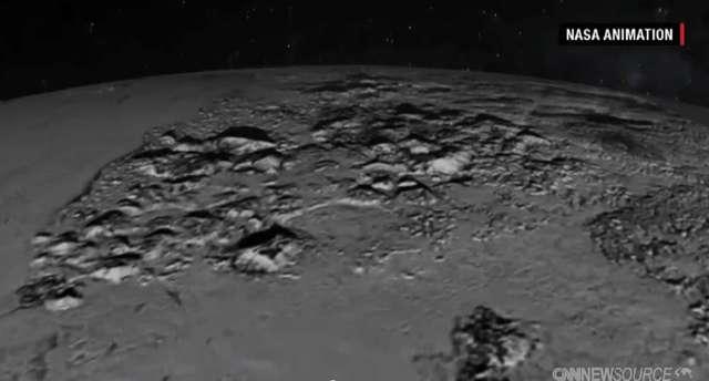 Najnowsze zdjęcia z Plutona. NASA stworzyło symulację przelotu nad planetą - full image