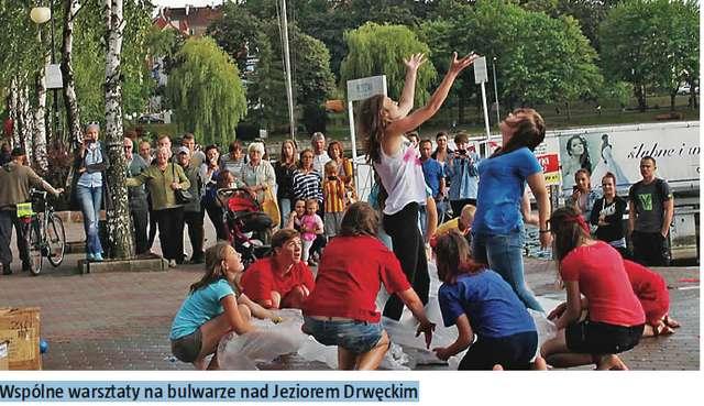 Młodzi Polacy i Ukraińcy poznawali się w Ostródzie - full image