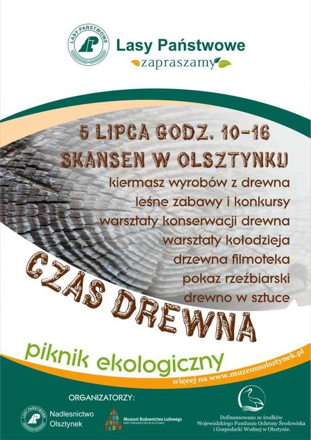 Olsztynek: czas drewna, czyli piknik ekologiczny - full image