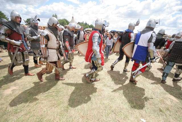 Rycerze, konie, łuki i... rosomaki - mapa i program Dni Grunwaldu 2015! - full image