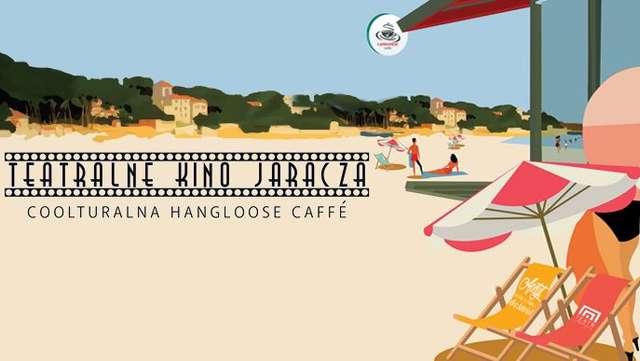 Teatralne kino na plaży - full image