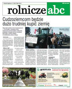 Rolnicze ABC - lipiec 2015