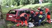 Wypadek w Gordejkach koło Olecka. Dziecko i kierowca w szpitalu