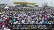 Pracowity dzień papieża w Ekwadorze