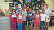 Myszyniec: Świetlica Towarzystwa Przyjaciół Dzieci obdarowana prezentami
