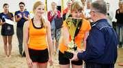 Stempelki zdobyły puchar Walczaka w turnieju siatkówki plażowej