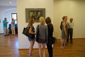 Wernisaż wystawy malarstwa Gabrieli Trynkler