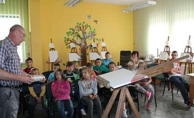 W Korszach namalowali cząstkę Ukrainy