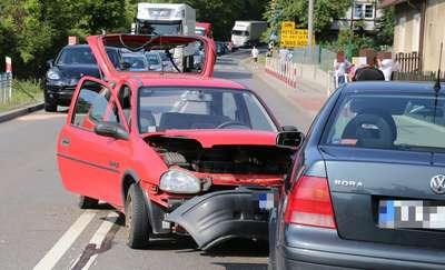 Wypadek na DK 16. Jedna osoba ranna
