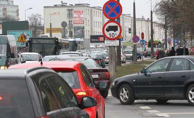 Kolejna zmiana ruchu na Dworcowej w Olsztynie. Kierowcy uważajcie! [MAPKA]