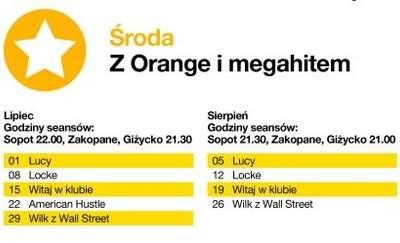 Kino Letnie Orange w Ekomarinie