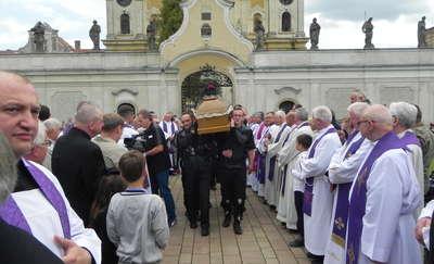 Ostatnie pożegnanie ks. Andrzeja Krużyckiego