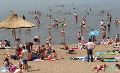 Uff jak gorąco!  Plaża w Suchaczu przeżywa oblężenie