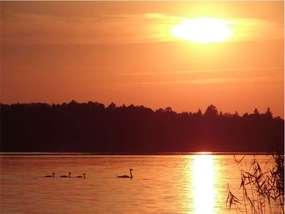 Wielkie Partęczyny kuszą zachodami słońca